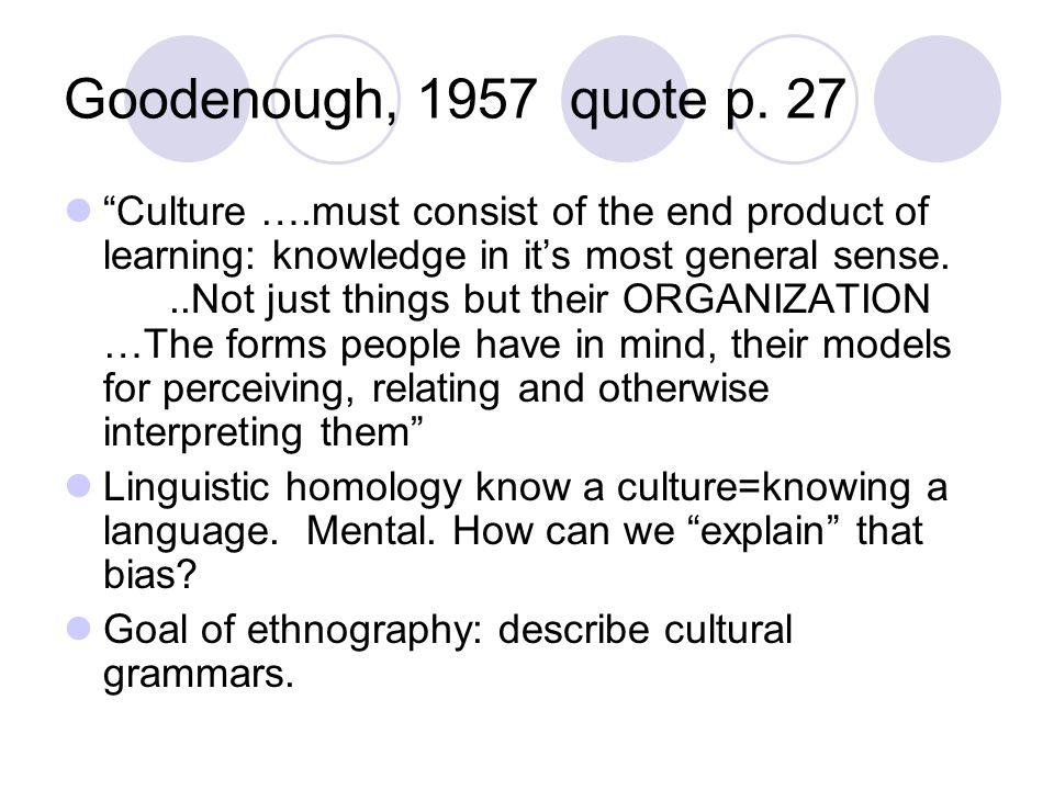 Goodenough, 1957 quote p. 27