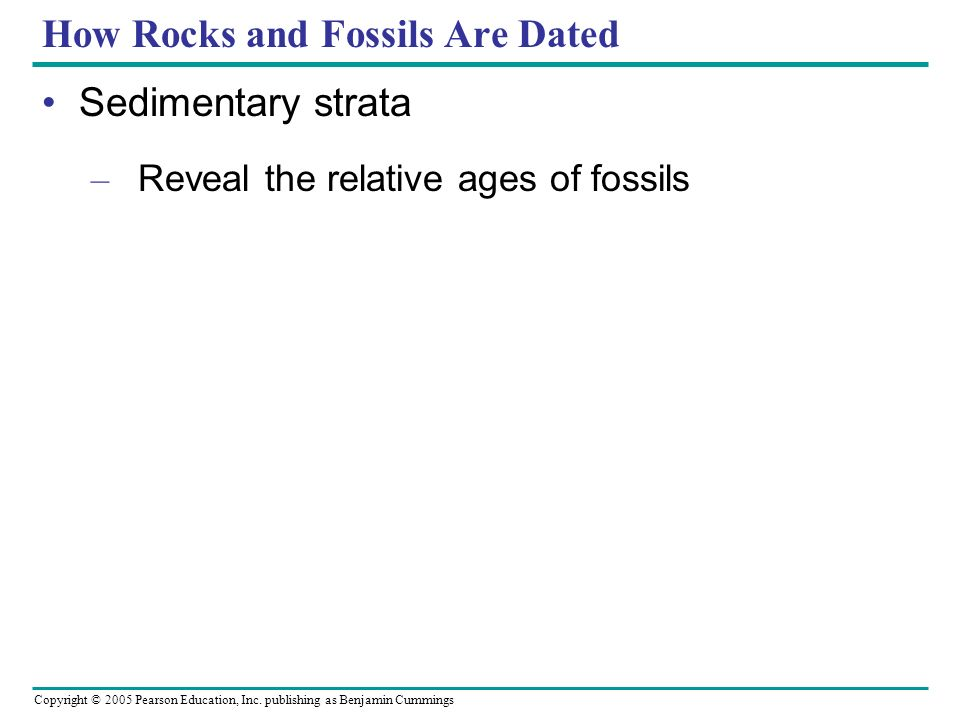 absolute and relative dating ppt template