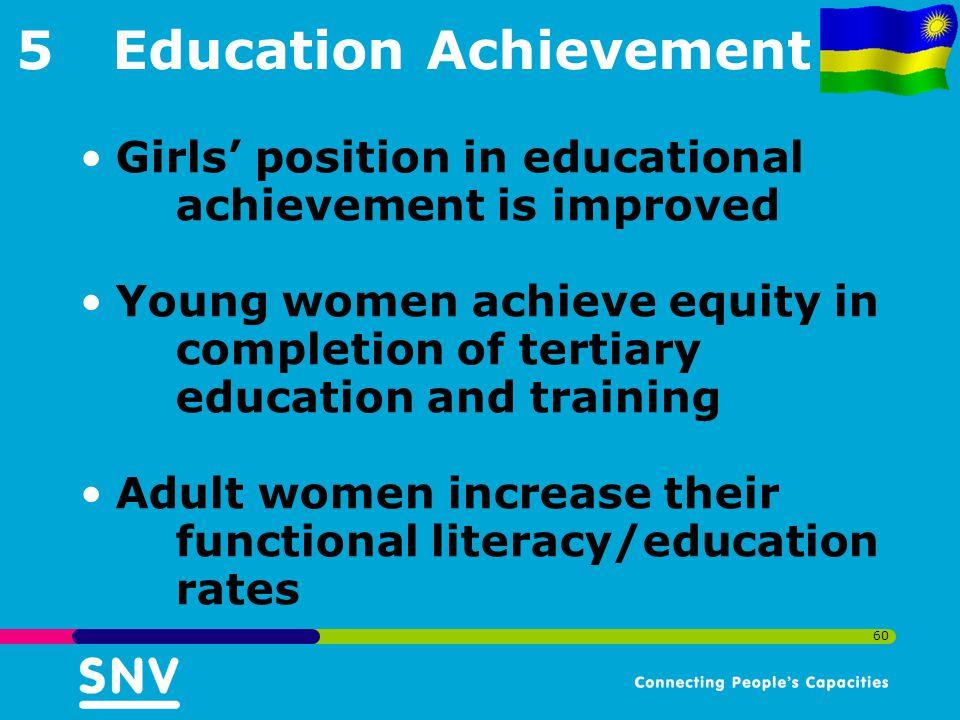 5 Education Achievement