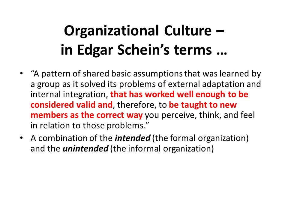 organization culture can it be a Related: why company culture is more important than ever  more aligned  organization, capable of achieving its short-term and long-term.