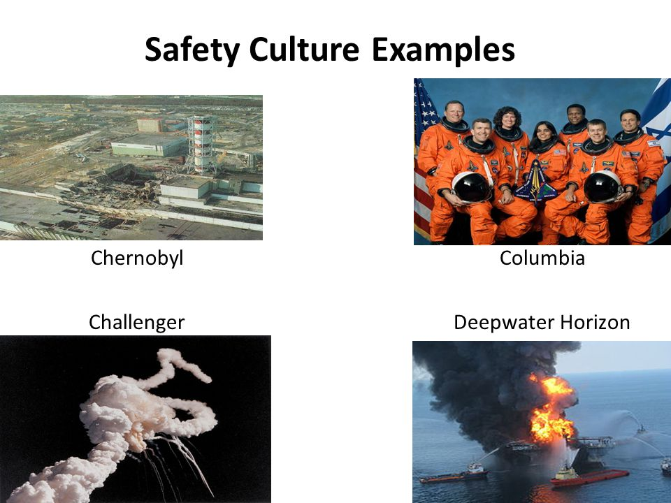 Safety Culture Examples