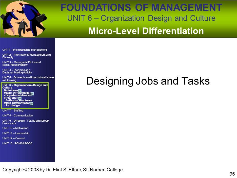 Micro-Level Differentiation