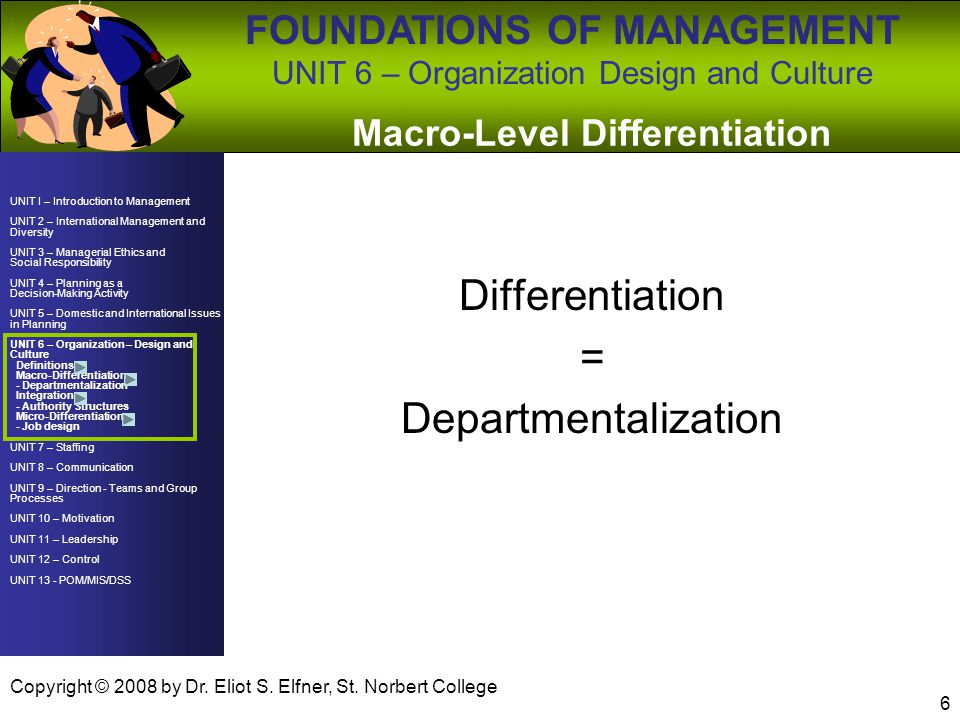 Macro-Level Differentiation