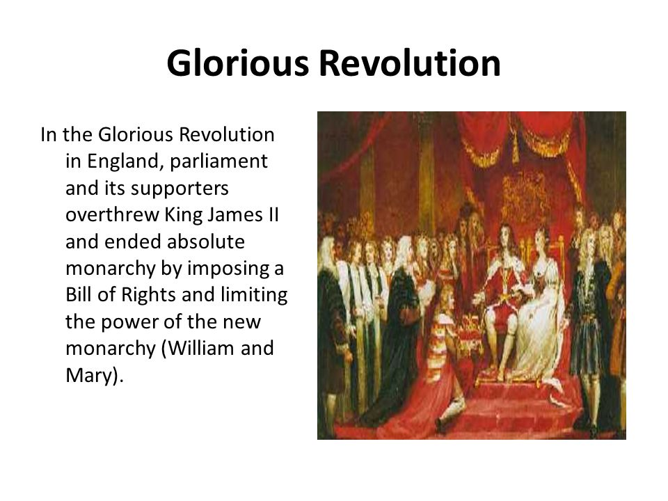 american history the glorious revolution essay The north american theater of the primarily european seven years' war was known as the french and indian war it was fought between britain and france from 1754 to 1763 for colonial dominance in north america.
