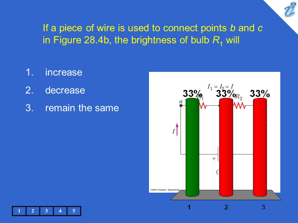 If a piece of wire is used to connect points b and c in Figure 28