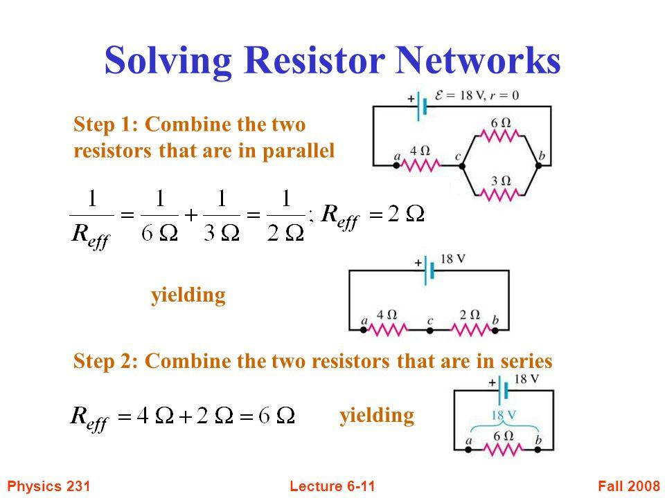Solving Resistor Networks