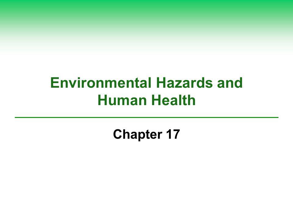 Environmental Hazards and Human Health
