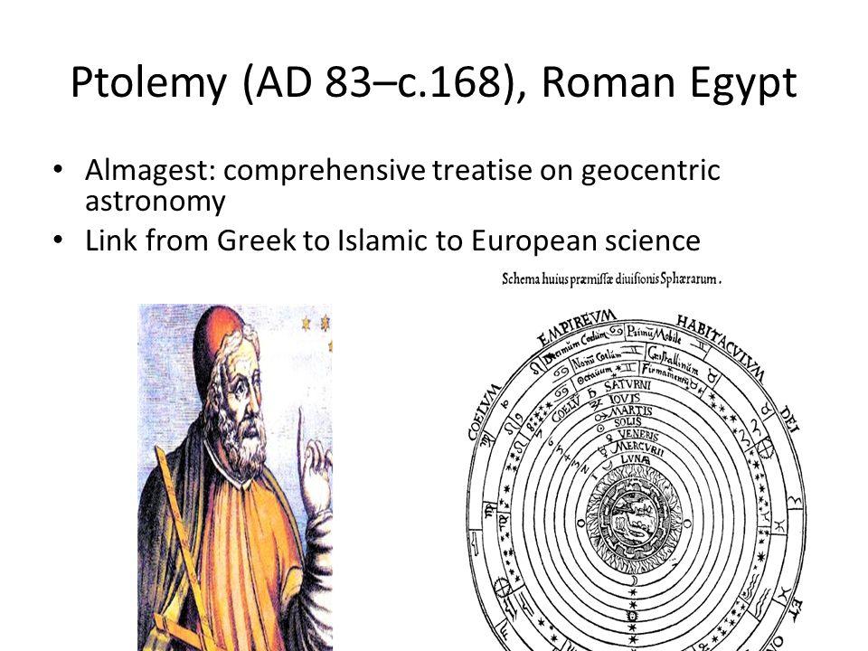 Ptolemy (AD 83–c.168), Roman Egypt