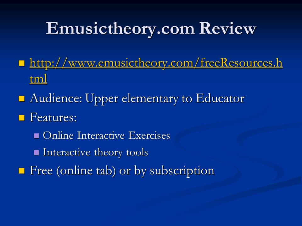 Emusictheory.com Review