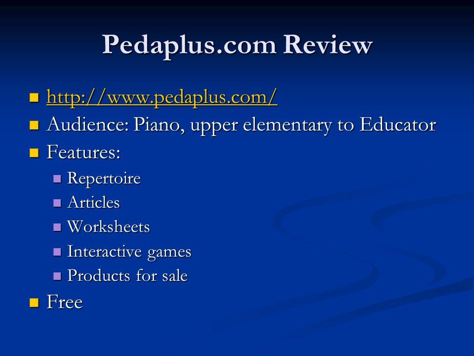 Pedaplus.com Review http://www.pedaplus.com/