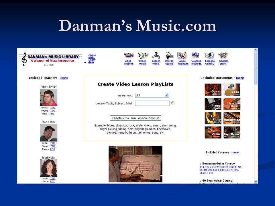 Danman's Music.com