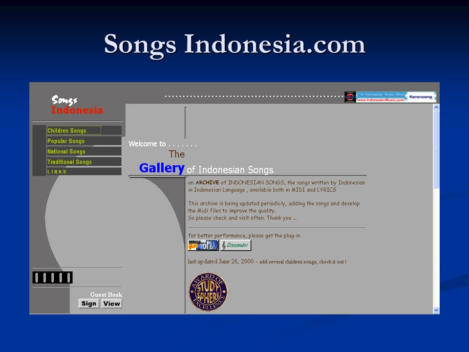 Songs Indonesia.com