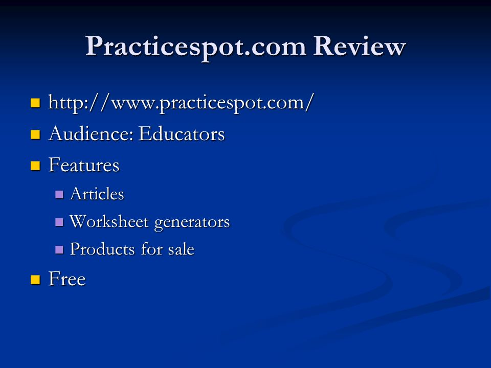 Practicespot.com Review