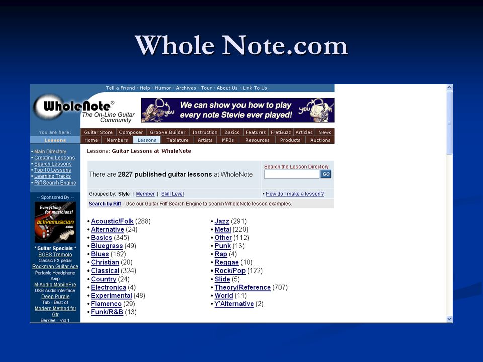 Whole Note.com