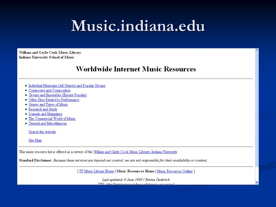 Music.indiana.edu