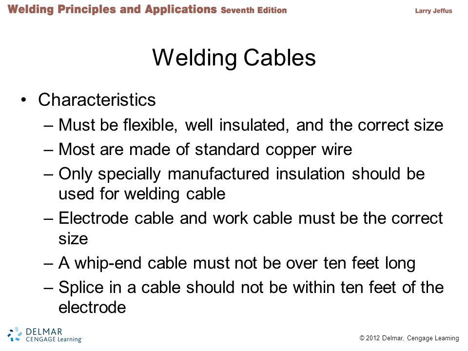 Welding Cables Characteristics