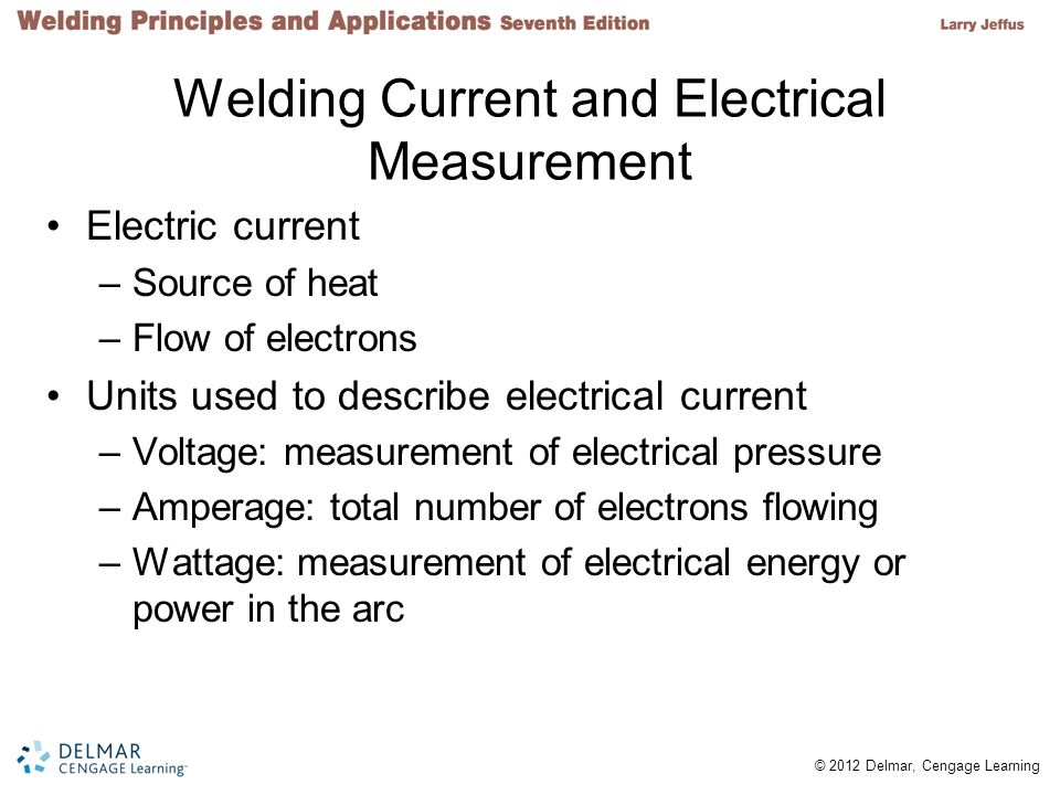Welding Current and Electrical Measurement