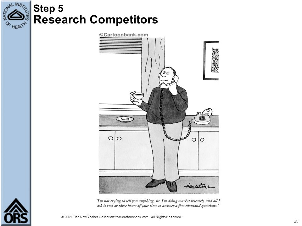 Step 5 Research Competitors