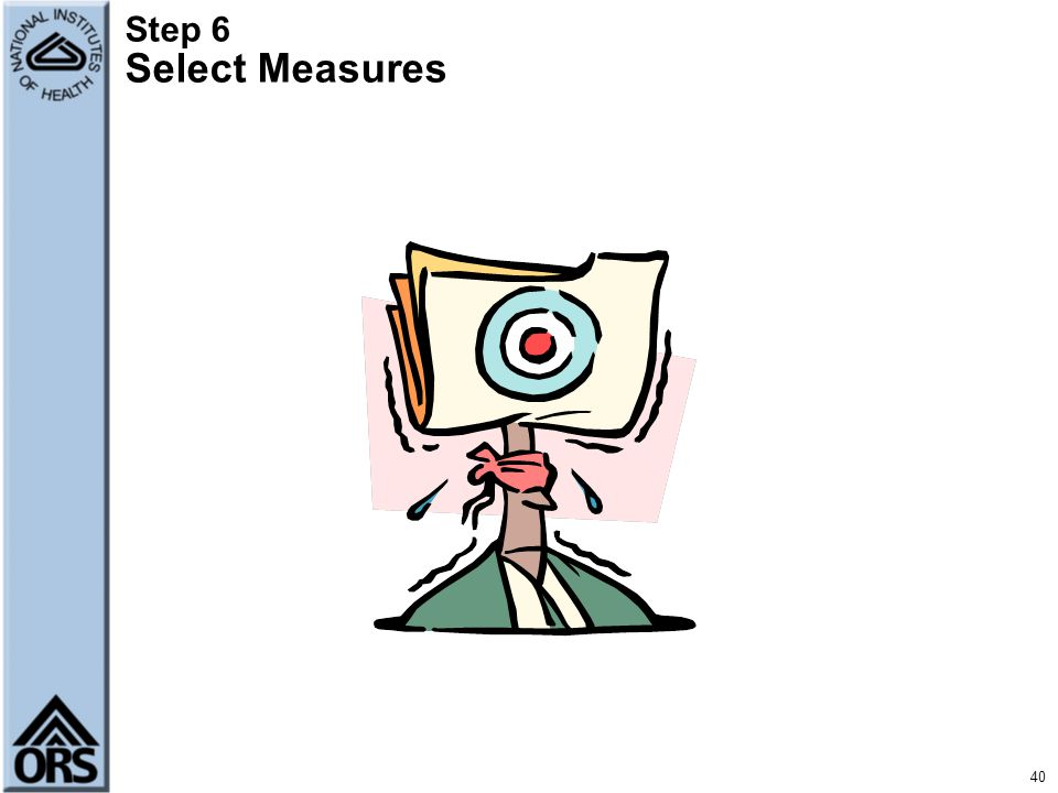 Step 6 Select Measures