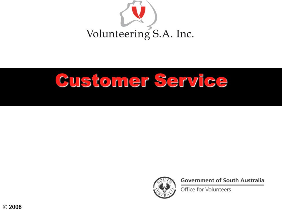 Customer Service © 2006