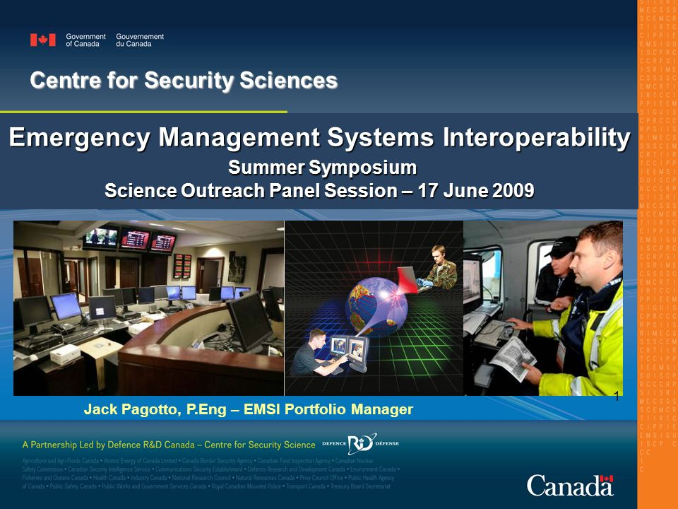 Emergency Management Systems Interoperability