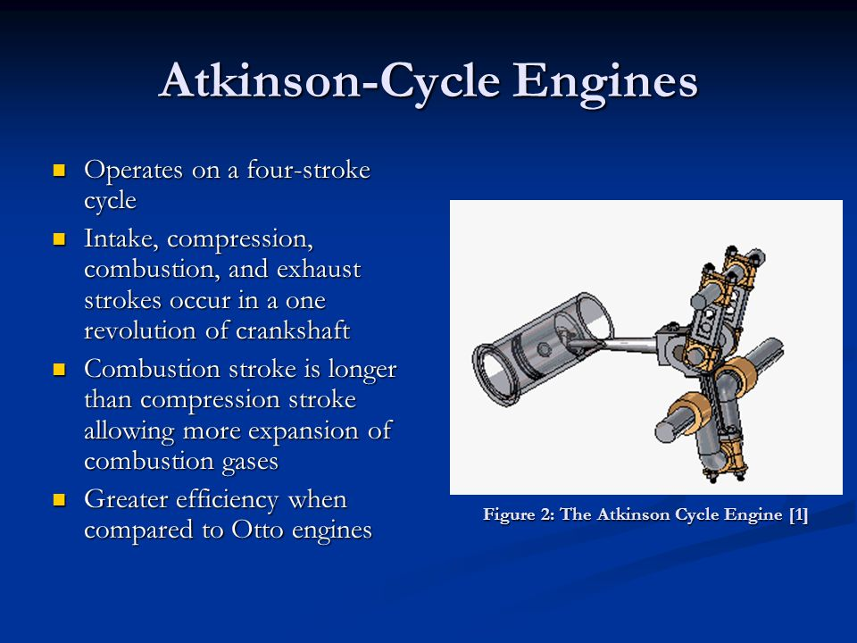 Atkinson-Cycle Engines