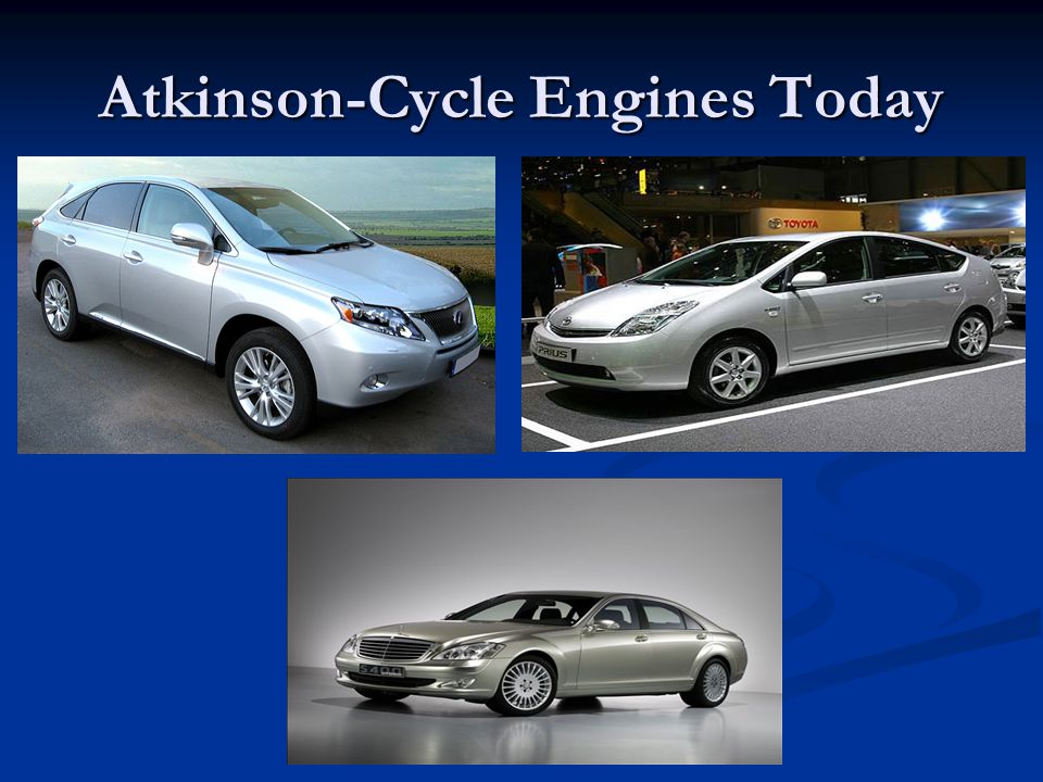 Atkinson-Cycle Engines Today