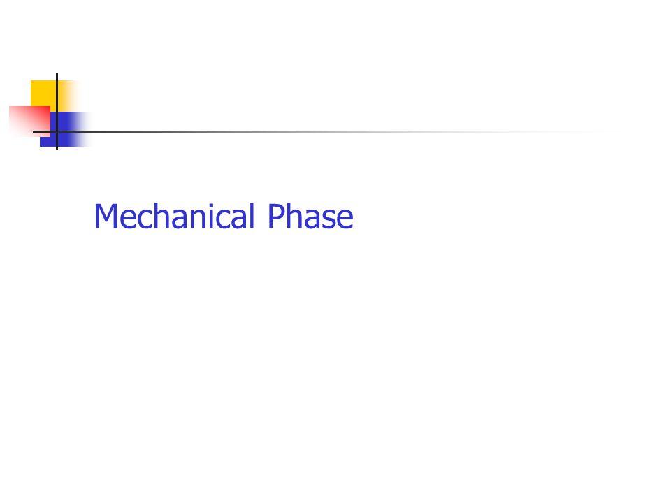 Mechanical Phase