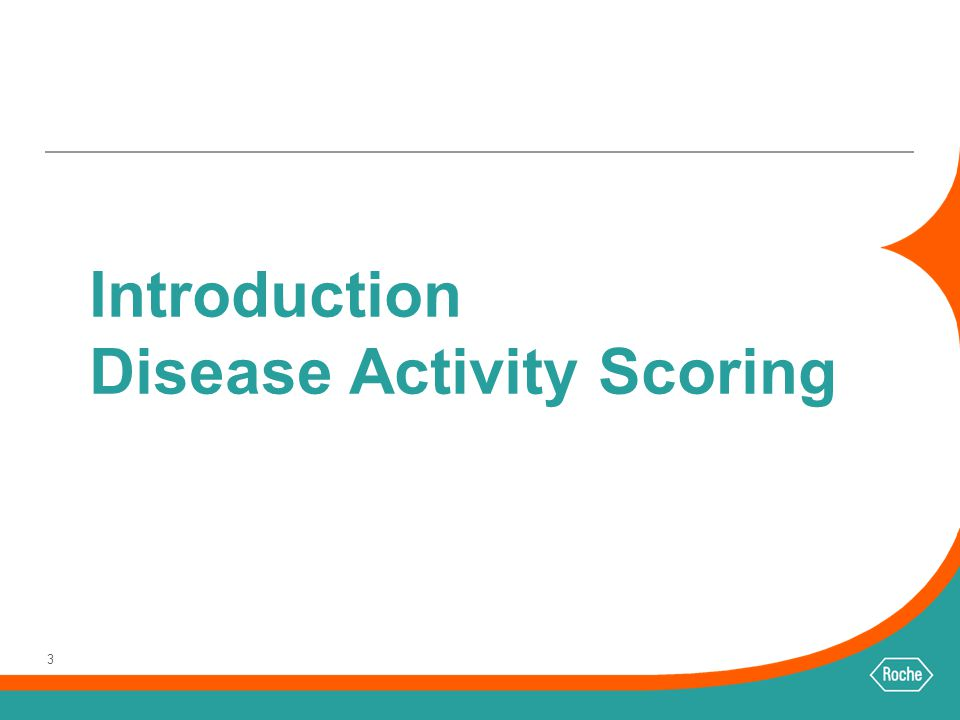 Introduction Disease Activity Scoring