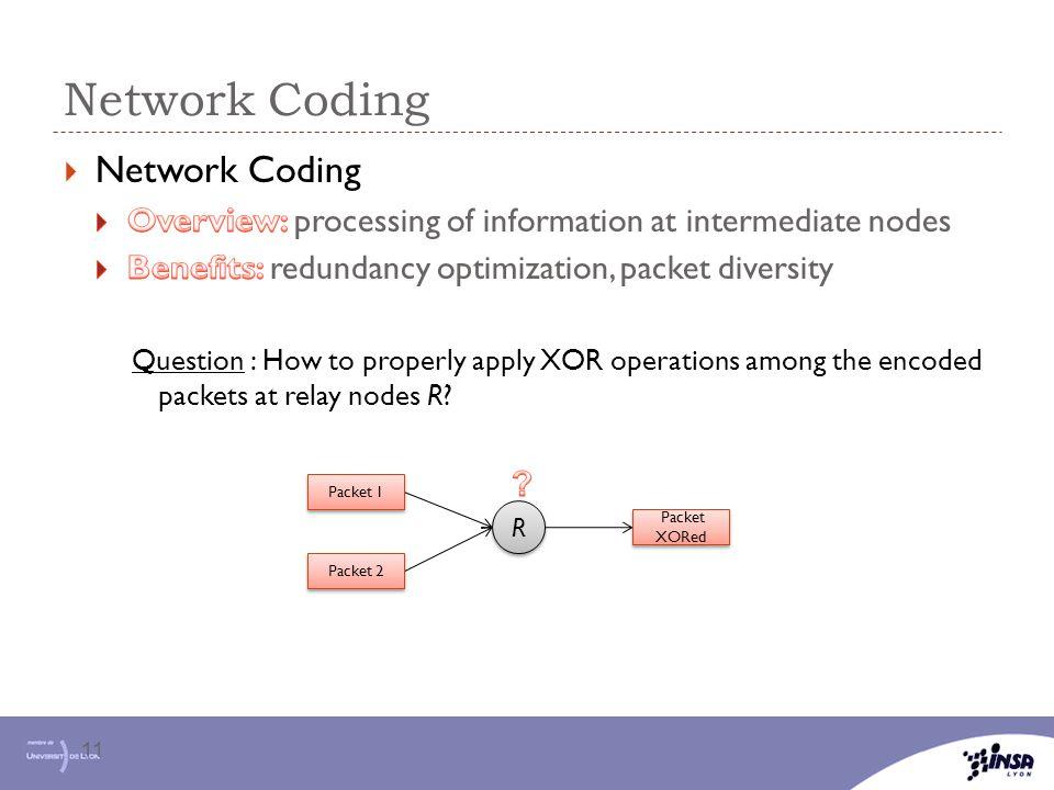 Network Coding Network Coding
