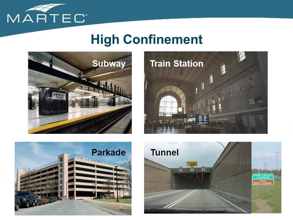 3/25/2017 High Confinement Subway Train Station Parkade Tunnel