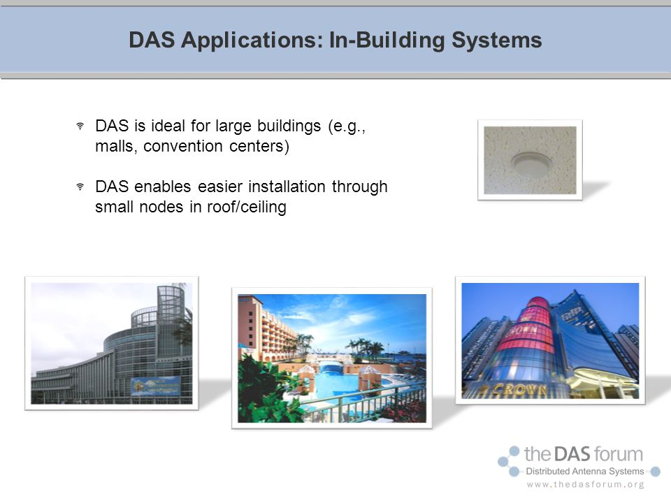 DAS Applications: In-Building Systems