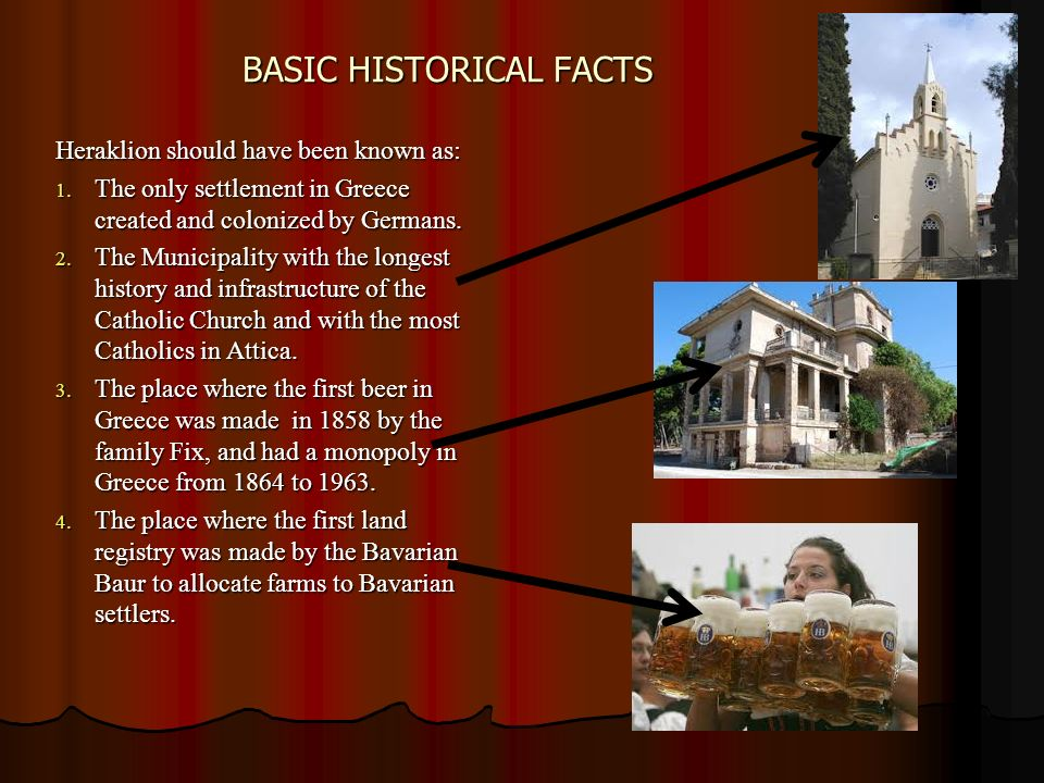 BASIC HISTORICAL FACTS