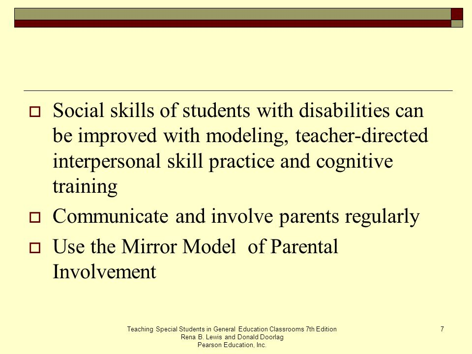 Communicate and involve parents regularly