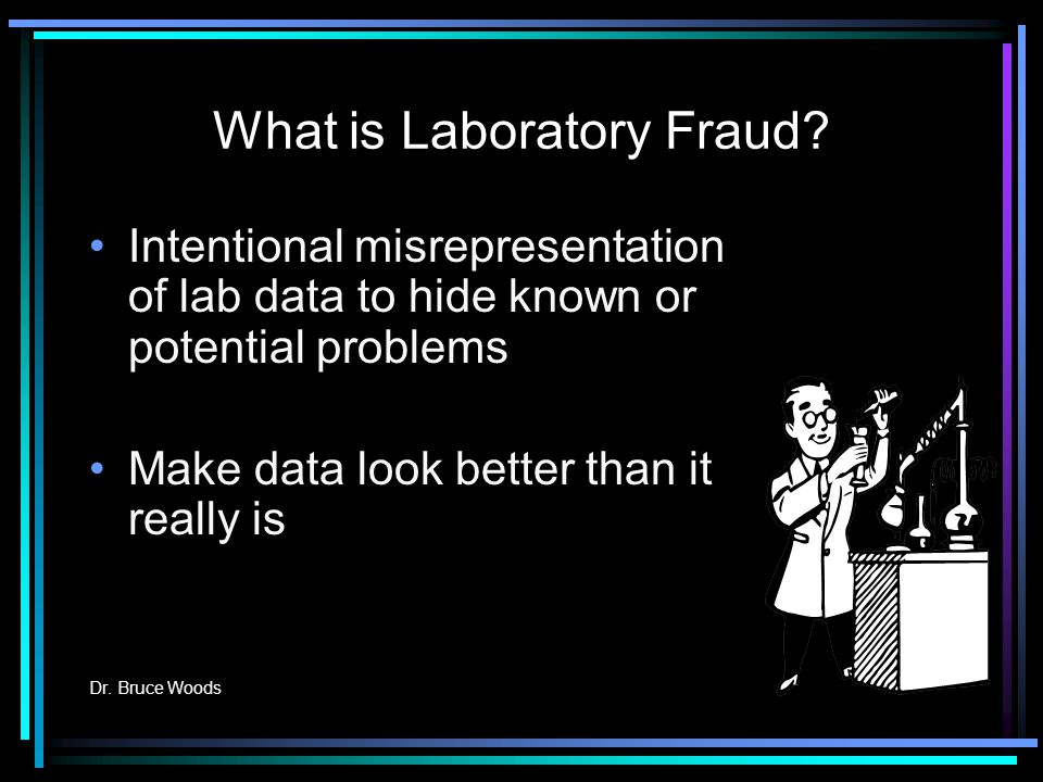 What is Laboratory Fraud