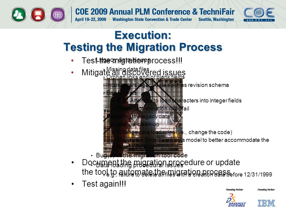 Execution: Testing the Migration Process