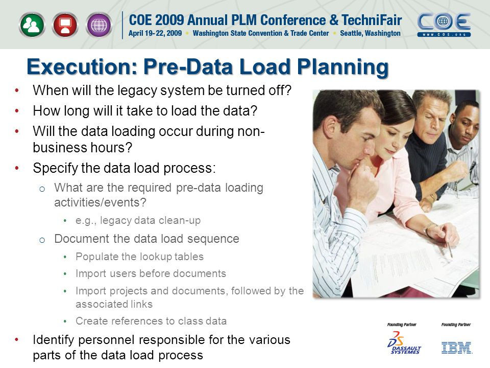 Execution: Pre-Data Load Planning