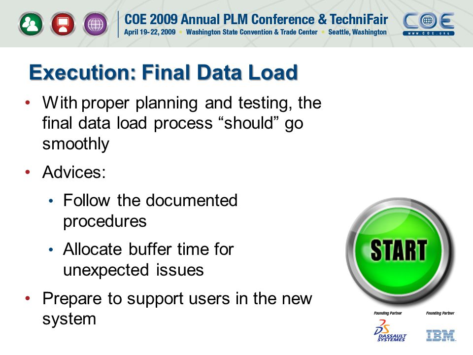 Execution: Final Data Load