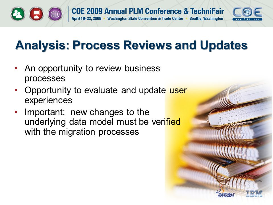 Analysis: Process Reviews and Updates