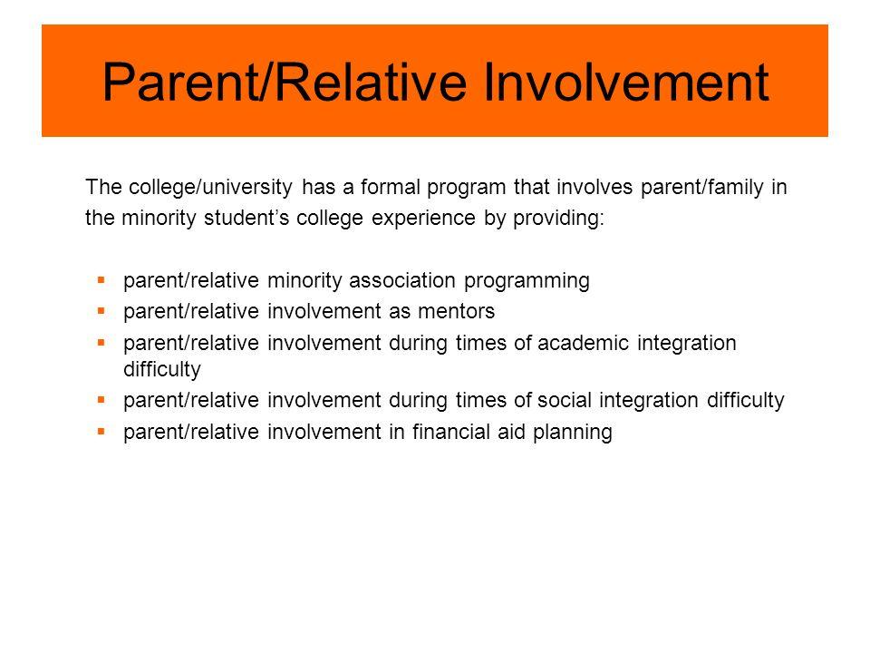 Parent/Relative Involvement