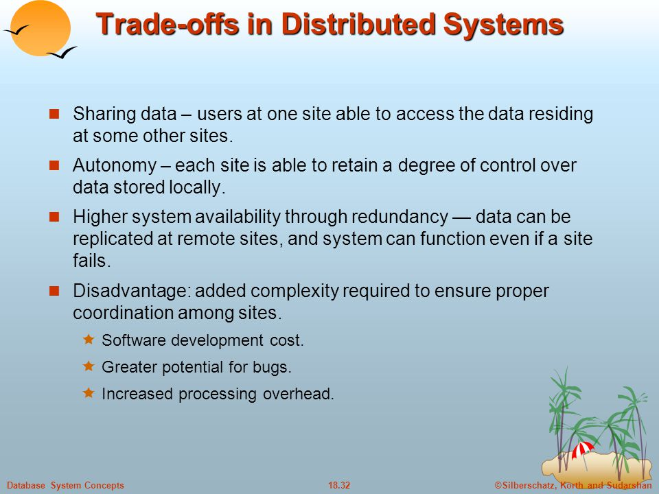 Trade-offs in Distributed Systems