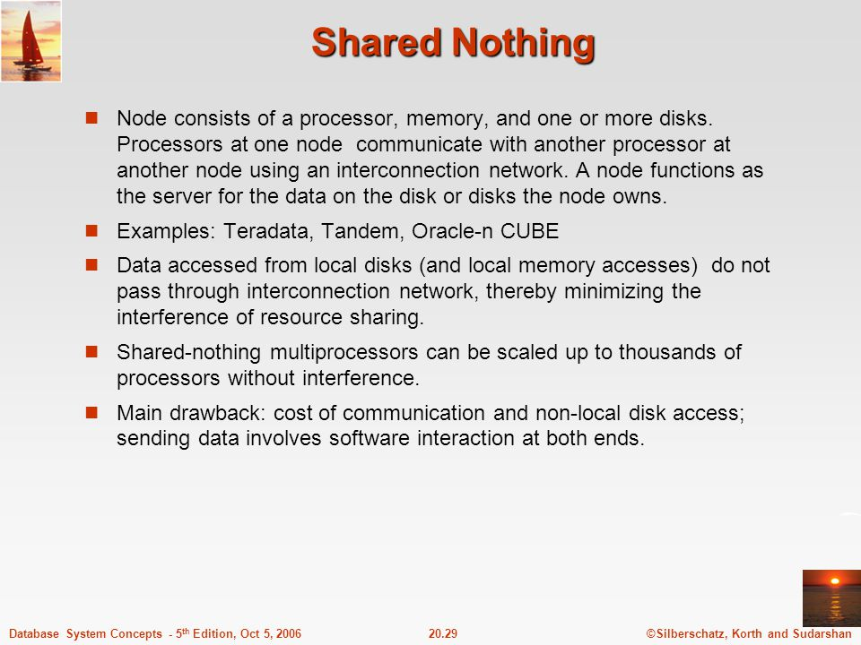 Shared Nothing