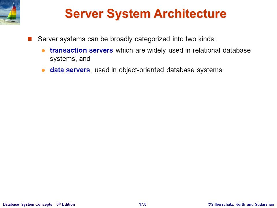 Server System Architecture