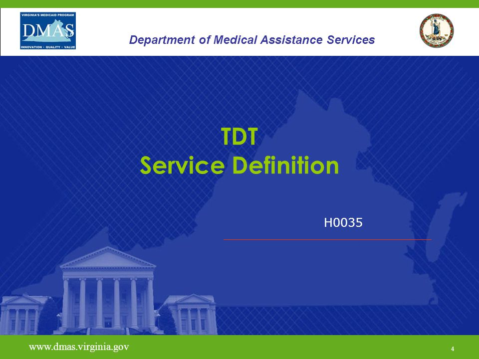 TDT Service Definition