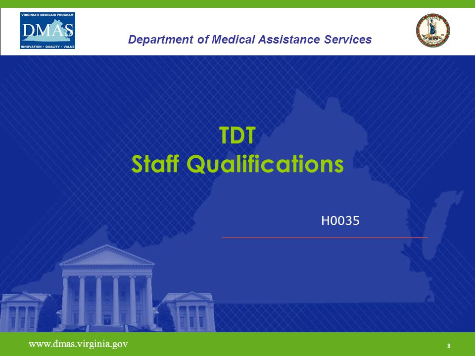 TDT Staff Qualifications