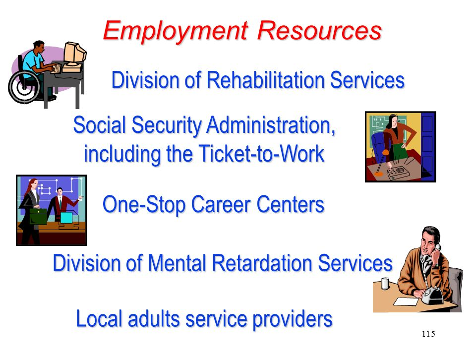 Employment Resources Division of Rehabilitation Services