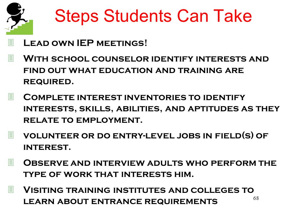 Steps Students Can Take