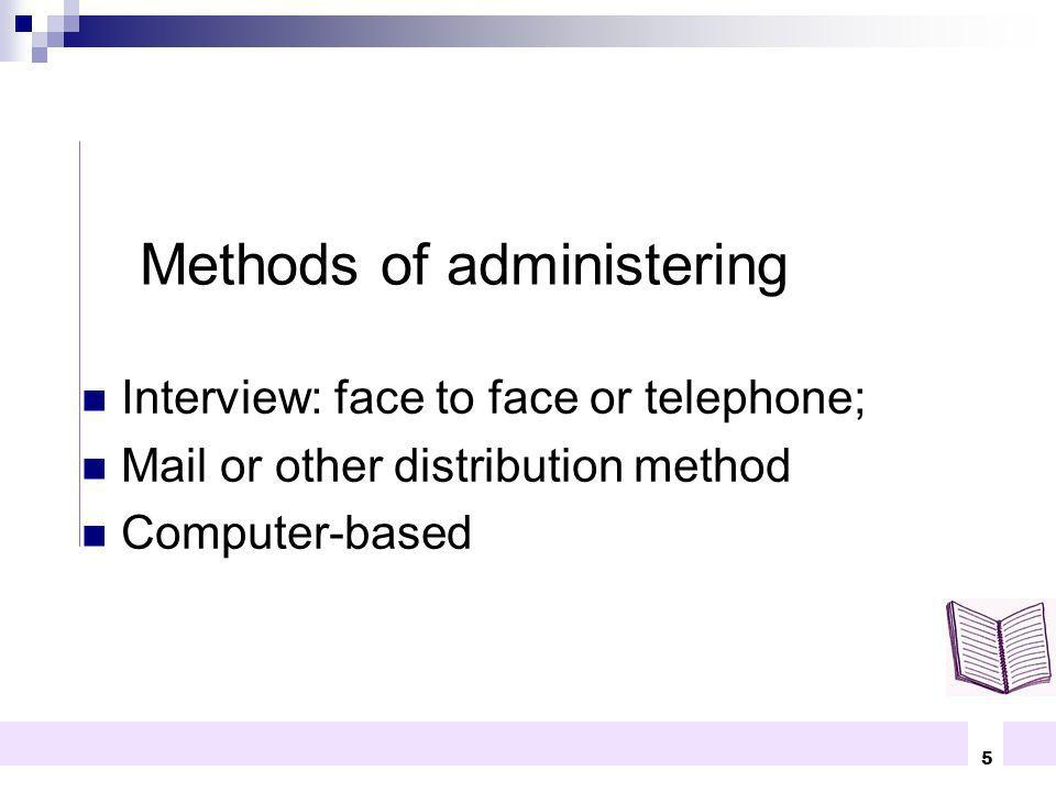 Methods of administering