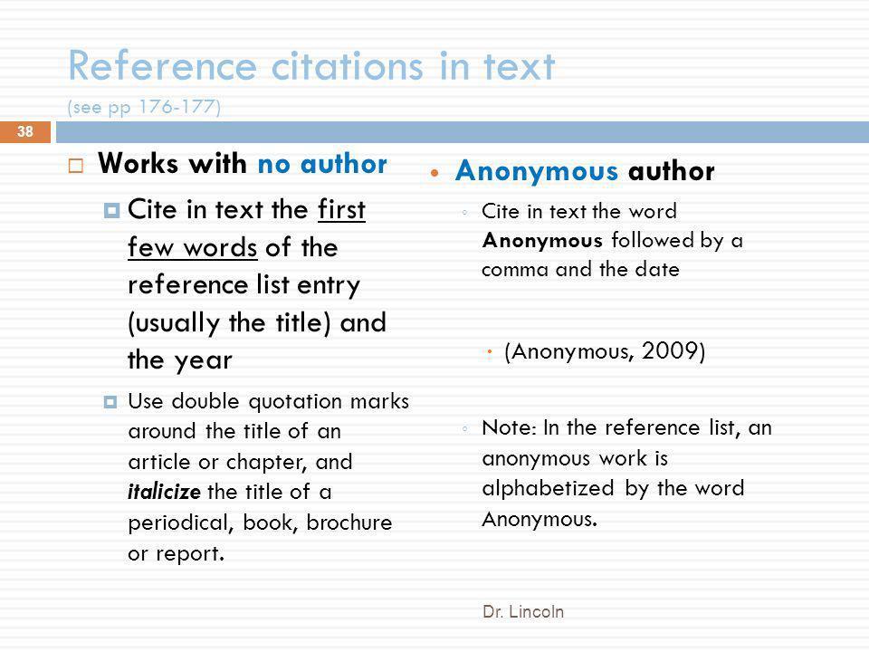 Reference format no author apa citation multiple authors example apa citation ccuart Images