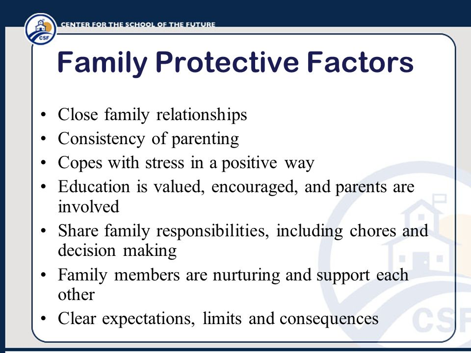 Family Protective Factors